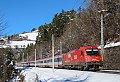 Foto zeigt: Reihe 1216 zw. München und Brenner abgelöst.