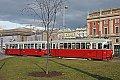 Foto zeigt: Abschied von der Straßenbahn in Wien-Oberlaa