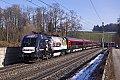 am Foto: 1116.222 mit Railjet (Westbahn)