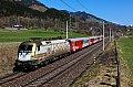 am Foto: 470.010 mit REX 1508 in Bruck Fusch (Giselabahn)