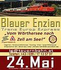 Foto zeigt: Sonderfahrt am 24.05.2014 mit 1020 & TEE Blauer Enzian