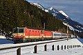 Foto zeigt: 1144.092 + 1144.117, IC 591, Penk (Tauernbahn), 23.02.2014