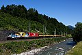 Foto zeigt: 1216.019 + 1216.011, GAG 91114, Grieswirt (Giselabahn), 03.07.2014