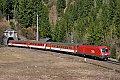 Foto zeigt: 1116.214 mit EuroCity 101 (Ardning)