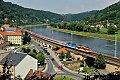Foto zeigt: CD 371 + CD 372, EuroCity, Königstein (Deutschland), 18.07.2014