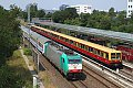 am Foto: DB 186.241 und 485.141, Berlin Landsberger Allee (S Bahn Berlin)