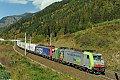 am Foto: BLS Cargo + SBB Cargo vor einem EKOL-Ganzzug