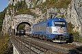 Foto zeigt: CD 380 auf der Semmeringbahn - Die Tage sind bald gezählt!