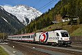 "am Foto: 1116.264 ""HITRADIO Ö3"" vor Intercity am Tauern"