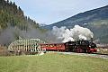 am Foto: 99.633 + Lok 5, Sonderzug, Zell a (Zillertalbahn), 22.11.2014