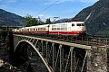 am Foto: DB 103.184 mit Schnellzug (Tauernbahn)