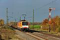 Foto zeigt: Locon 189.820, Eggolsheim (KBS 820 Bamberg-Nürnberg ), 15.11.2014