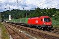 Foto zeigt: 1116.128 mit Hangartner-Zug (Wernstein)
