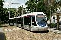 Foto zeigt: Straßen- und Stadtbahn auf Sardinien