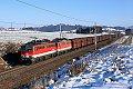 Foto zeigt: 1142.644 + 1142.617 mit Ganzzug bei Köstendorf (Westbahn)