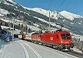 Foto zeigt: 1116.056 + 1144.030 im Bahnhof Angertal