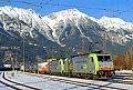 Foto zeigt: BLS Cargo 486.505 und 503, Innsbruck Frachtenbahnhof