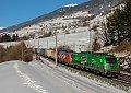Foto zeigt: Werbeloks am Brenner