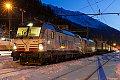 Foto zeigt: Siemens 193.901 + Lokomotion 189.918 Brenner (Brennerbahn)