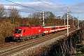 am Foto: 1116.230 mit R 3064 (Westbahn)