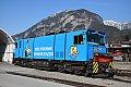Foto zeigt: Neue Werbelok bei der Zillertalbahn!
