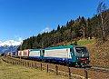 Foto zeigt: FS E412.019 + FS E412.004, GAG 41871, Penk (Tauernbahn), 28.03.2015