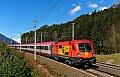 Foto zeigt: GySEV 1116.065, EC 111, Pusarnitz (Tauernbahn), 31.03.2015