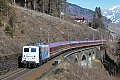 Foto zeigt: Schnee-Express nach Mallnitz mit 139er-Zebra