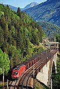 Foto zeigt: Kohlenstaubzug (Tauernbahn), 10.05.2015