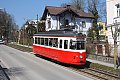 Foto zeigt: Straßenbahn Gmunden: GM 9 im Planverkehr