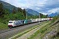 Foto zeigt: Lokomotion 186.441 + 186.247 vor TEC 41853 (Tauernbahn)