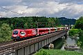 Foto zeigt: ÖFB RailJet am Weg nach Villach
