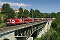 Foto zeigt: ÖFB - 1116.225, RJ 537, St. Veit an der Glan - Taggenbrunner-Viadukt (Kronprinz Rudolfbahn)