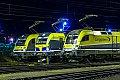 am Foto: CargoServ 1216.932 + CargoServ 1193.890 + CargoServ 182.581, Linz Mühlbachbahnhof (VÖEST)