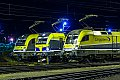 Foto zeigt: CargoServ 1216.932 + CargoServ 1193.890 + CargoServ 182.581, Linz Mühlbachbahnhof (VÖEST)