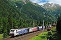 Foto zeigt: Lokomotion 189.907 + Lokomotion 189.905, TEC 41851, Mallnitz-Hintertal (Tauernbahn)