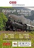 Foto zeigt: JETZT anmölden: Dampfzüge im Drautal (19. & 20.09.2015)