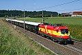 am Foto: 1116.232 mit Orient-Express (Westbahn)