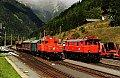 Foto zeigt: 1161.019 + 1245.518 (ÖGEG) Mallnitz-Obervellach (Tauernbahn)