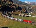 Foto zeigt: Russenzug am Brenner