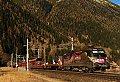 Foto zeigt: ESC 1116 auf der Autoschleuse Tauernbahn