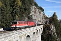 Foto zeigt: 1142.707 + 1116.147 Breitenstein - Krauselklause - Krausel-Tunnel (Semmeringbahn)