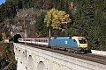 Foto zeigt: MAV 470.006, EN 234, Breitenstein - Krauselklause - Polleroswand-Tunnel (Semmeringbahn), 03.11.2015