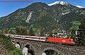 Foto zeigt: 1016.007, EC 113, Bad Hofgastein Hst. - Steinbach-Viadukt (Tauernbahn), 16.09.2012