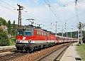 Foto zeigt: 1142.677 + 1144.276 (kalt), E 1640, Wien Unter Purkersdorf (Westbahn)