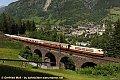 Foto zeigt:DB 103.235 Bad Hofgastein Hst. - Pyrkershöhe-Viadukt