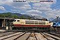 Foto zeigt: DB 103.235 auf der Drehscheibe in Selzthal (Ennstalbahn)