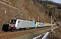 Foto zeigt: Lokomotion planmäßig in die Steiermark