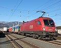 Foto zeigt: 1016.042 , SLGAG 48485 (Voest Alpine Linz > Koper) , Villach Westbahnhof (Rudolfsbahn), 11.02.2016