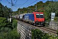am Foto: SBB Cargo 484.017, Güterzug, Monfalcone (Italien), 22.10.2015